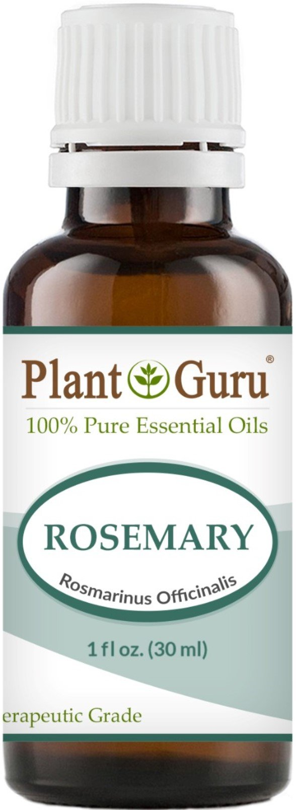 Rosemary Essential Oil 30 ml.(1 oz,) 100% Pure Undiluted Therapeutic Grade For Aromatherapy Diffuser, Stimulates Hair Growth and Dandruff Control.