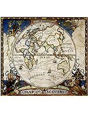 Map of Discovery, Eastern Hemisphere, Tubed
