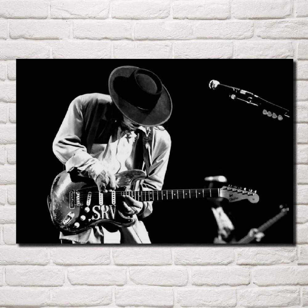 Florwesr Músicos De La Guitarra Blues Habitación Monocromática ...
