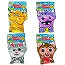 Glove-A-Bubbles 4 Pack: 1 Dinosaur , 1 Hippo , 1 Monkey, 1 Rabbit