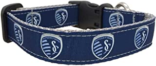 product image for MLS Kansas City Sporting Dog Collar, Medium, Navy