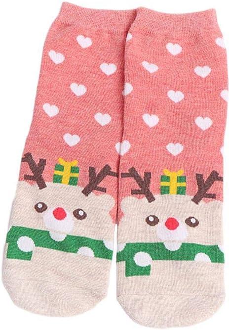 Dontdo - Calcetines tobilleros de algodón cálido para invierno con ...