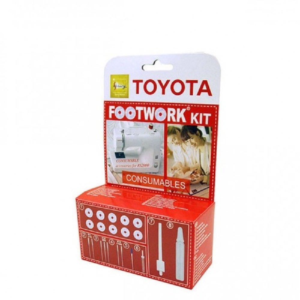 TOYOTA Kit consumabili per macchina da cucire 679340-CCA20 FWK-CCA20
