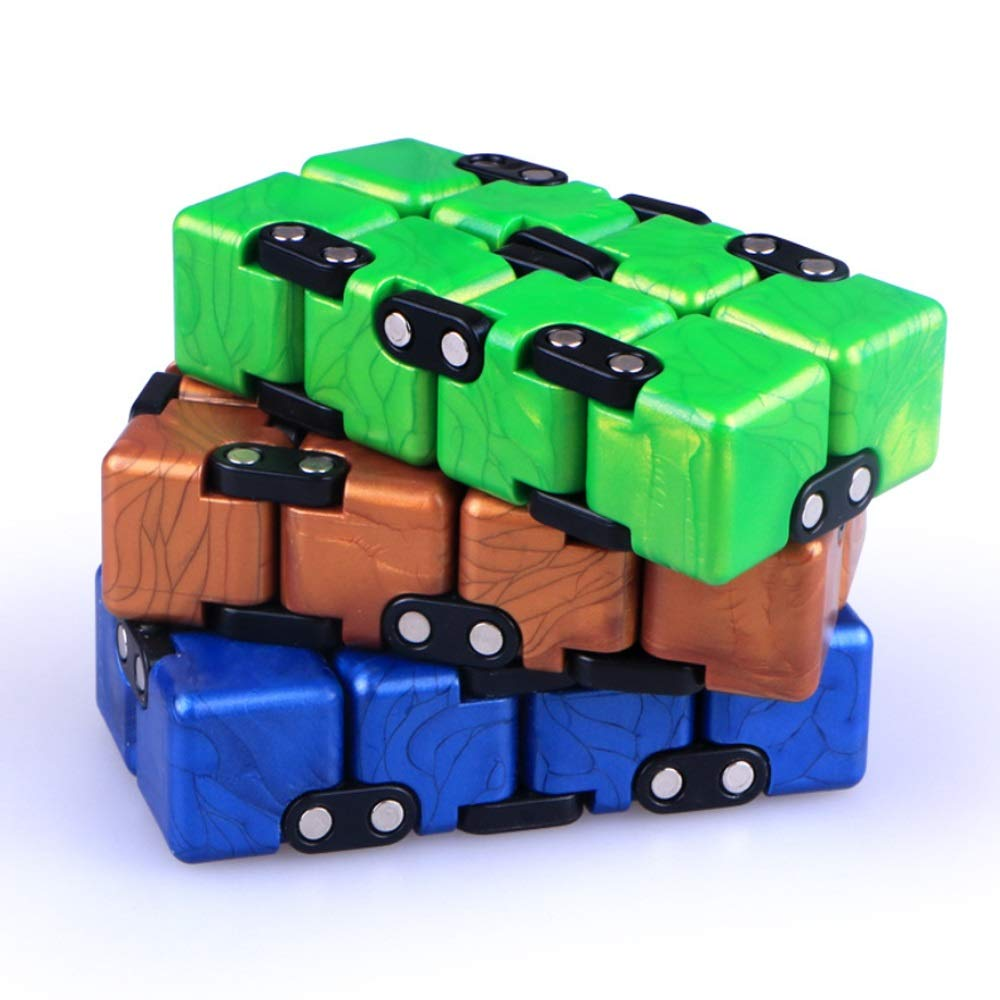 XUE Infinity Cube Toy/Gift Box Infinite Cool Gadget for ...