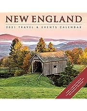 New England 2021 Wall Calendar