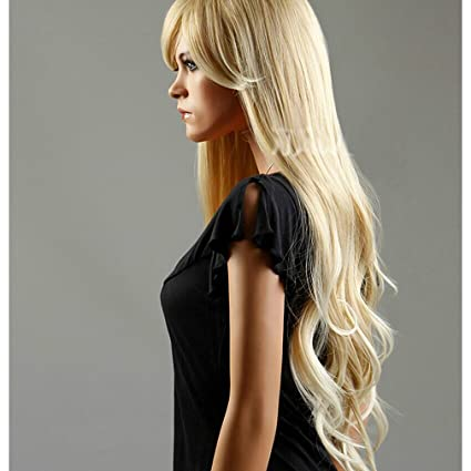 HSG Kanekalon 100% + Libre Wig Cap alta calidad Super largas lockigen peluca pelo cosplay