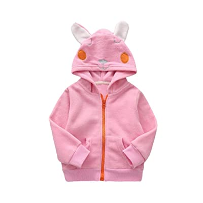 Gotd Infant Toddler Baby Girl Boy Clothes Warm Hooded Coat Outwear Winter Outfit