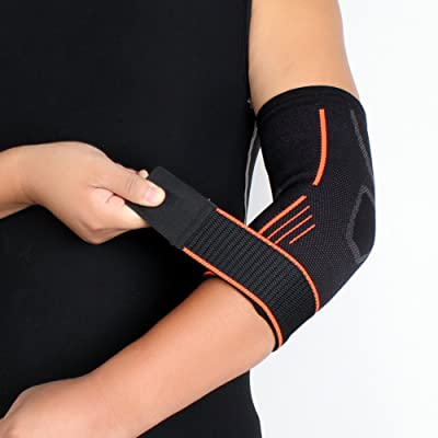1 pcs Banding Coude Supporter Pression prolongée Sweat Wicking Ventilation Compression Poignet Pad