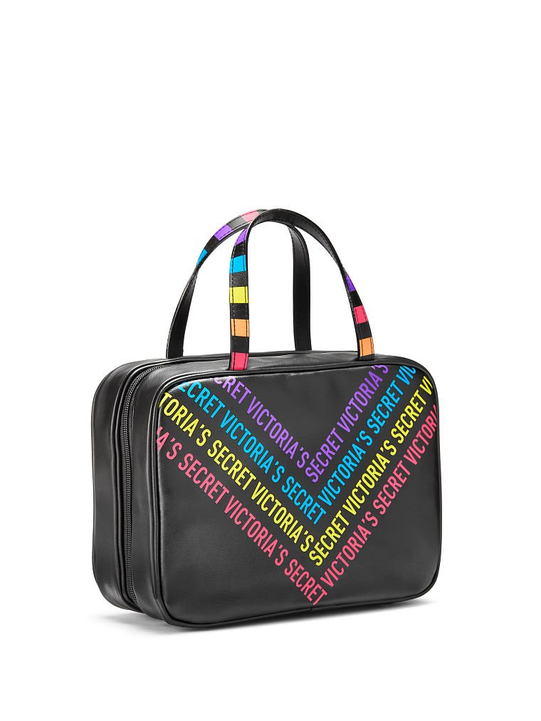 Amazon.com  Victoria s Secret Rainbow Jetsetter Travel Case  Beauty b688f0c38f29a