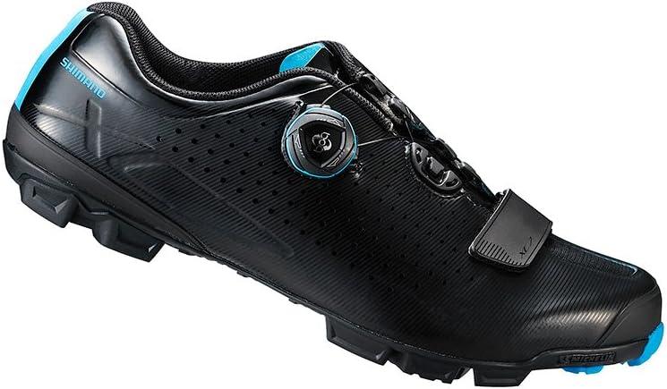 SHIMANO 2018 Men s XC Racing Mountain Bike Shoes – SH-XC7 Black – 42