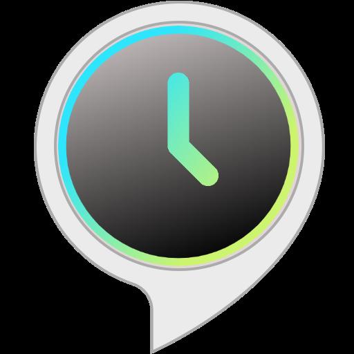 - Audible Clock