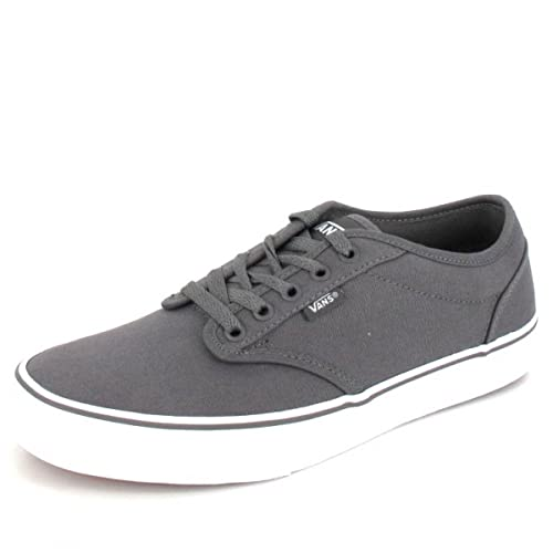 Vans Men's Atwood Canvas Sneakers Grey Size: 8