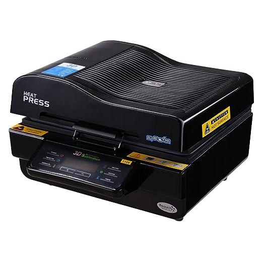 Yescom - Máquina de Prensa de Calor multifunción 3D para Impresora ...