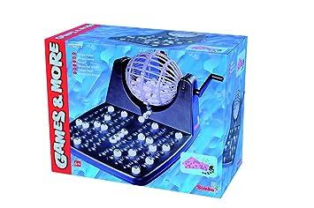 Simba - 106150493 - Juego de mesa - Bingo con tambores y accesorios -  30x23x18 cm (de importación de Alemania)  Amazon.es  Juguetes y juegos faf50867e71ae