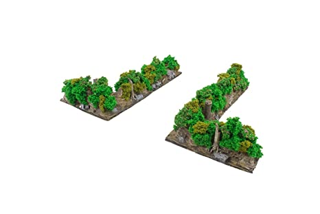 War World Gaming Battle Bocage Kit 1 - 28mm WW2 Wargaming Terrain Model  Diorama Scenery