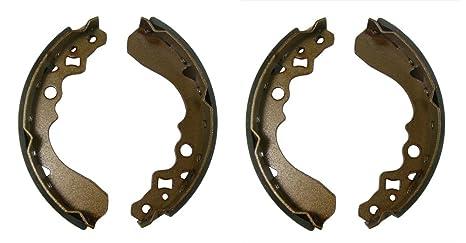Factory Spec, FS-107, Front Brakes Shoes Suzuki Quadrunner 250 2x4 & 4x4,  Kawasaki Mule 500, 520 & 550