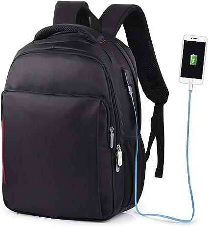 VBIGER Impermeable Mochila Portatil con Puerto USB para Estudiantes Negocios Viajes,14
