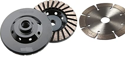 5 Diamond Grinding Cup Cutting Blade Stone Concrete Mortar