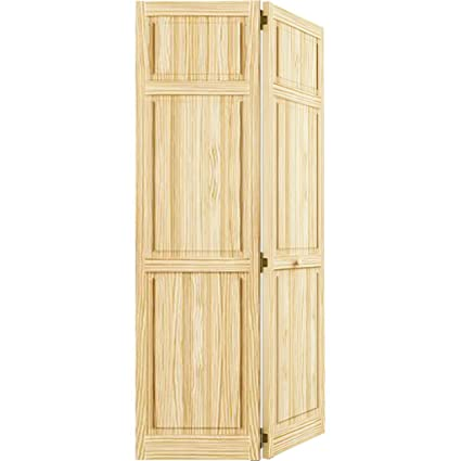 Awesome Closet Door Bi fold 6 panel Style Solid Wood 80x32 HD - Simple Elegant Solid Wood Closet Doors Luxury
