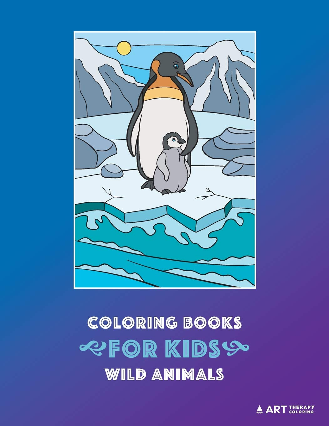 Amazon Com Coloring Books For Kids Wild Animals Animal