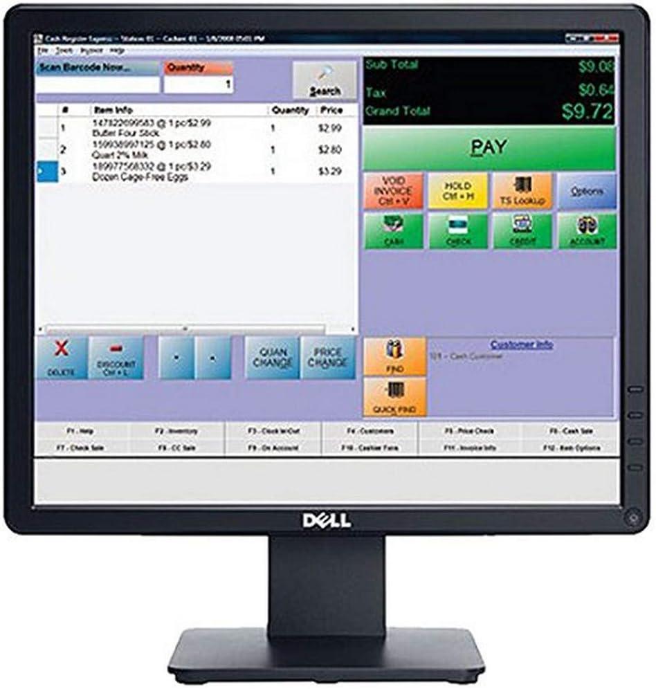 Dell E Series E1715S 17-Inch TN+Film Black Computer Monitor (Renewed)