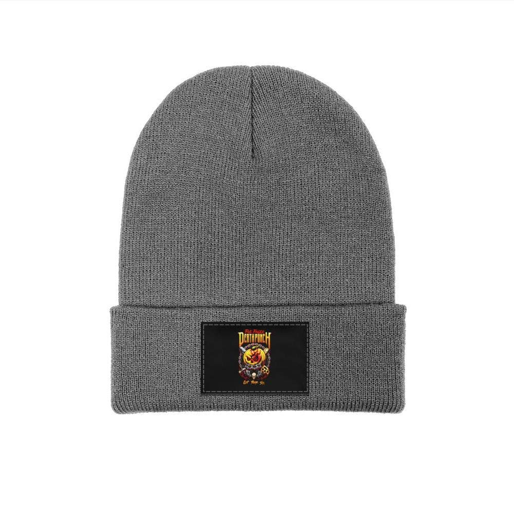 YJRTISF Popular Music Fine Knit Knit Caps Personalized Trending Beanie Hat for Men