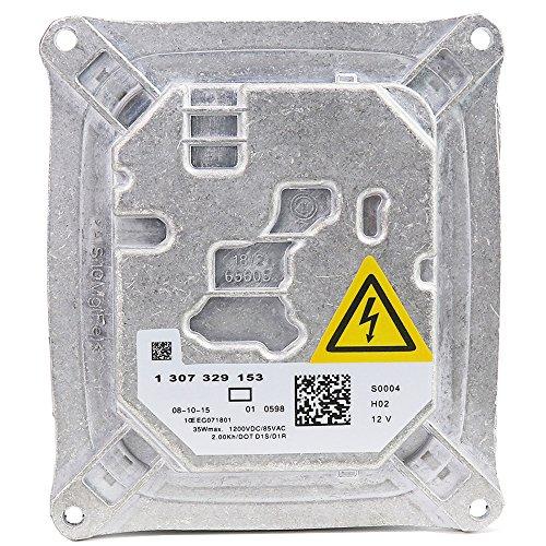 1307329153 Xenon HID Headlight Ballast Control Unit Module with Fast Startup Safe Stability for BMW Cadillac Mini Cooper Audi 130732915301 1307329193 130732919301