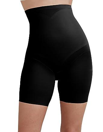 e9a21d24c3317 Cupid 2179-E Women s Black Solid Colour Firm Medium Control Slimming Shaping  High Waist
