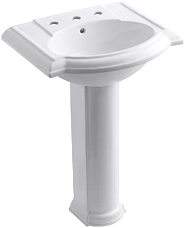 pedestal bathroom sink centers kohler installation sinks home depot memoirs classic