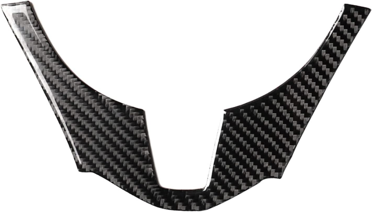 hors Carbon Fiber Interior Instrument Dashboard Steering Wheel Panel Frame Decal Cover Trim for Mazda 3 Axela M3 2013 2014 2015 2016
