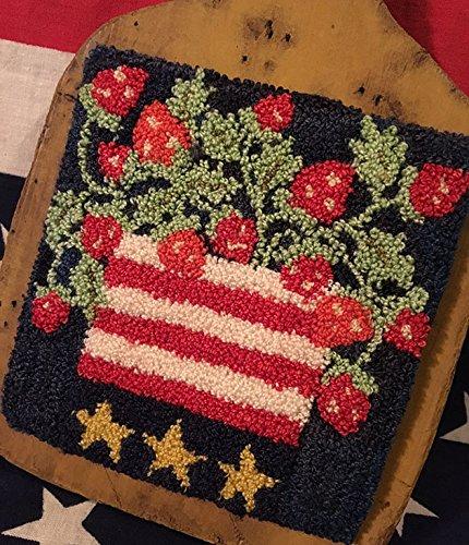 Punch Needle Embroidery STRAWBERRIE CELEBRATION