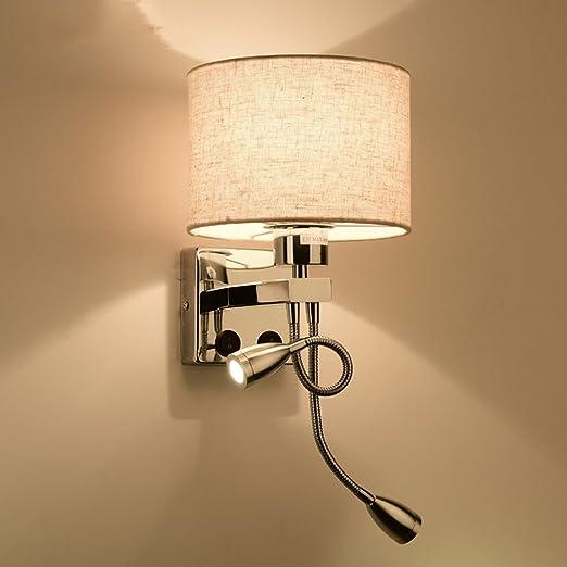 Bidesen Lighting BDS Lámpara de Pared Minimalista Moderna para Escalera Dormitorio de Sala de Estar del