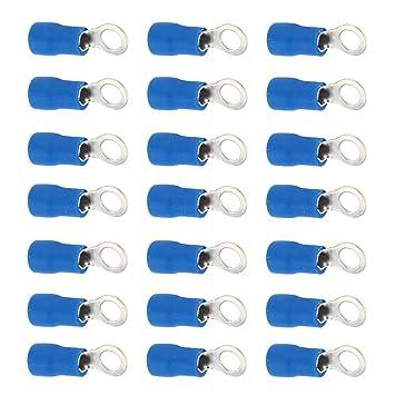 100X Ring M4 Heat Shrink Wire Connectors 16-14 Gauge Waterproof Crimp Terminals