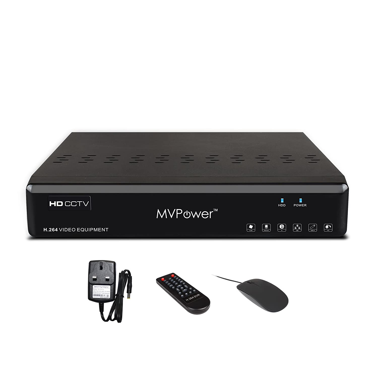 Mvpower 8 Channel Security DVR Full D1 H.264 CCTV Real-time Network Digital  Video Recorder Mobile Motion Detection,P2P HDMI Alarm Email for CCTV ...