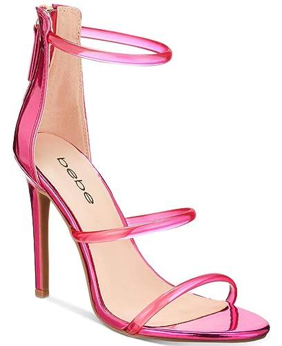 prezzo minimo stati Uniti immagini ufficiali Bebe Berdine - Sandali Aperti da Donna, Rosa (Pink Metalic ...