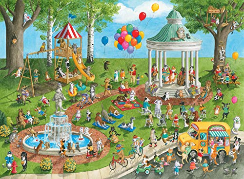 Ravensburger Pet Park - 300 Piece Jigsaw Puzzle for Kids - Every Piece is Unique, Pieces Fit Together Perfectly