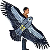 HENGDA KITE-Strong Eagles!Huge Beginner Eagle Kites for Kids and Adults.74-Inch