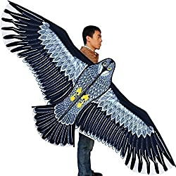 Hengda Kite-Strong Eagles!Huge beginner eagle kites for Kids and Adults.74-Inch by Hengda kite