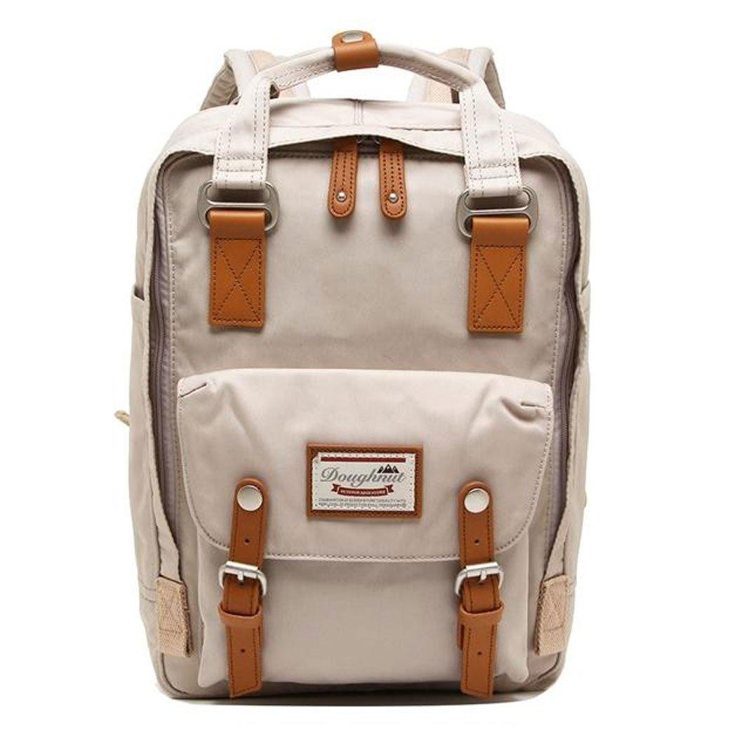 Doughnut Macaroon Laptop Backpack One Size Ivory