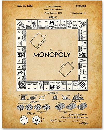 picture of a monopoly board game - 8