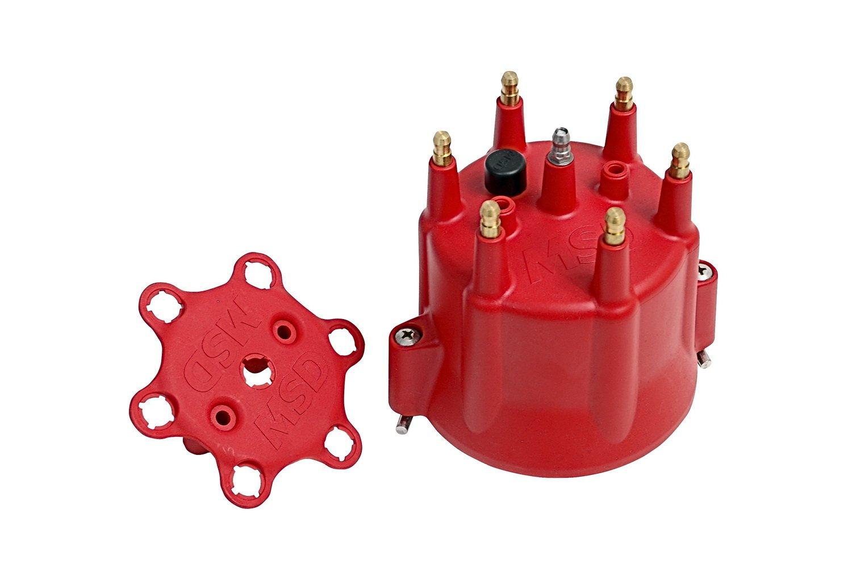 MSD 8014 6 Cylinder Distributor Cap MSD Ignition