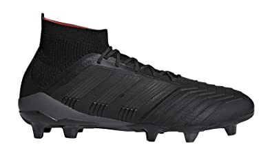 adidas Predator 18.1 FG Cleat Men s Soccer 7.5 Core Black-Real Coral 8e369876c