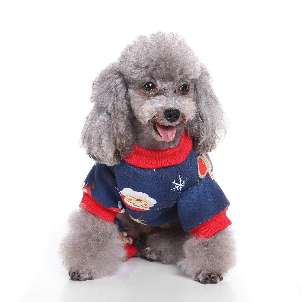 YARBAR Vestiti del Cane Cappotto per Cane Invernale Animali