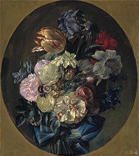 Oil Painting 'Paret Y Alcazar Luis Ramillete De Flores Ca. 1780', 10 x 11 inch / 25 x 28 cm , on High Definition HD canvas prints is for Gifts - Premium Angeles Ca Los Outlets
