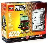 Lego BrickHeadz 41498 Star Wars Boba Fett & Han Solo in Carbonite NYCC Exclusive