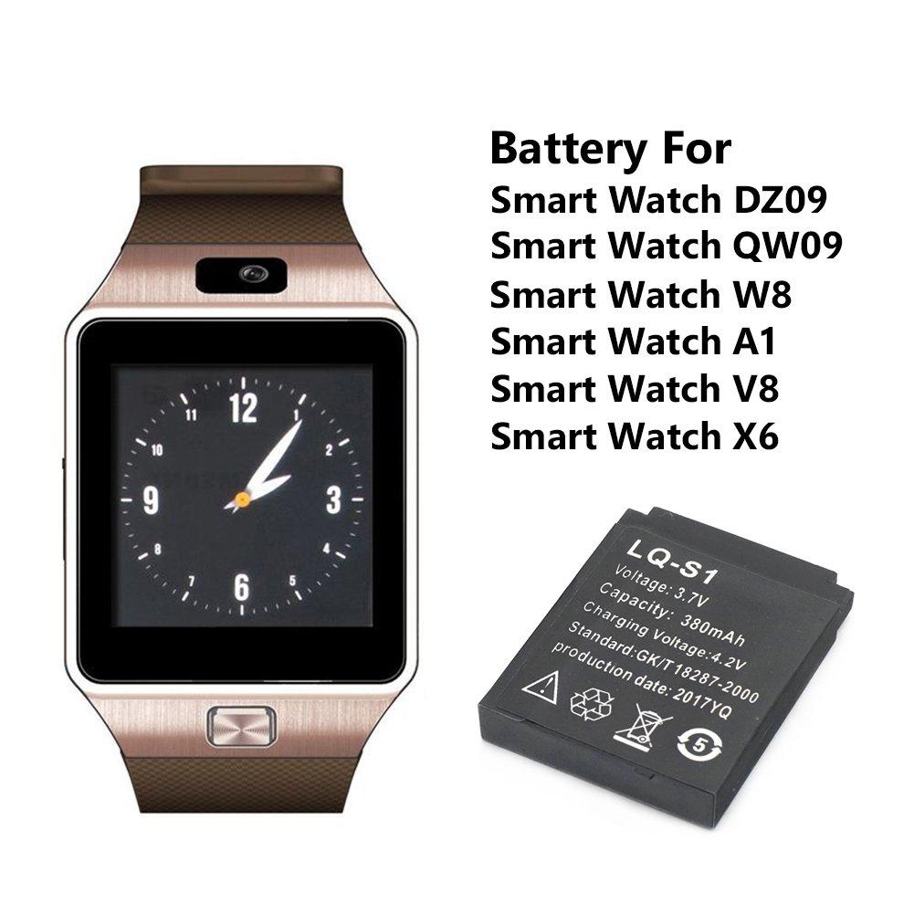 Amazon.com: Smart Watch Battery,LQ-S1 Rechargeable Lithium ...
