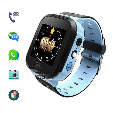 El reloj inteligente smartwatch con función de localizador antipérdida, Sistema SOS de emergencia con alarma