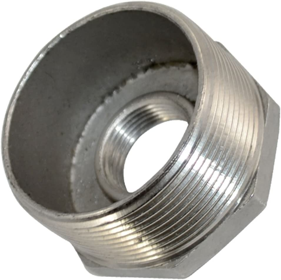 Adapter 3//8 Male x 1//4 Female Thread Reducer Bushing Pipe Fitting Stainless steel SS 304 NPT