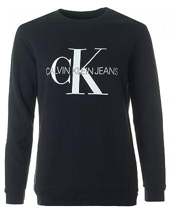 Calvin Klein Jeans Core Monogram Logo Sweatshirt: Amazon.es: Ropa y accesorios