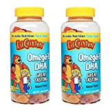 Lil Critters dFdapZ Omega-3 Gummy Fish with Dha, 180 Count (2 Pack)